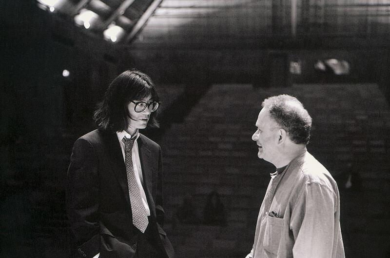 CM talking to Kent Nagano