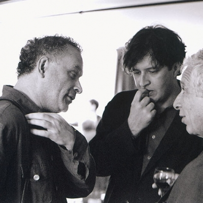 CM talking with Tom Ades & Alexander Goehr