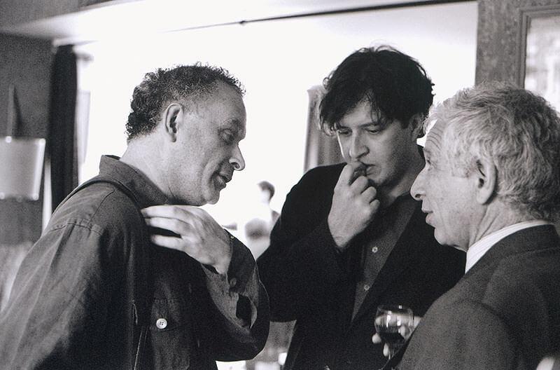 CM talking with Tom Ades & Alexander Goehr