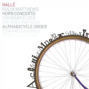 Colin Matthews: Horn Concerto, Alphabicycle Order