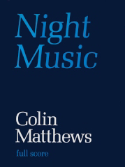 Cover of Score for Night Music