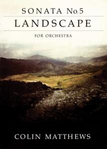 Cover of score for Sonata No.5: Landscape