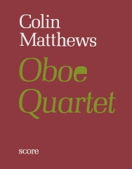 Cover of score for oboe quartet no .1