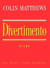 Cover of score for Divertimento