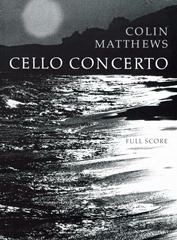 Cover of score for Cello Concerto No.1