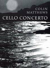 Cover of score for Cello Concerto No.1