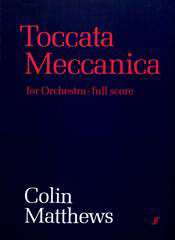 Cover of score for Toccata Meccanica