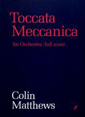 Cover of score for Toccata Meccanica