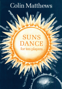 Cover of score for Suns Dance
