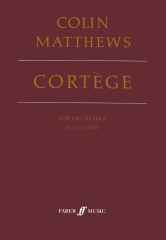 Cover of score for Cortege