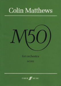 Cover of Score for M50