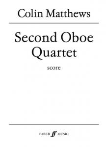 Cover of score for Second Oboe Quartet