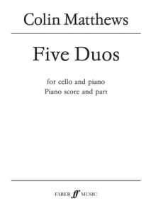 Cover of score for five duos