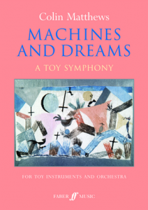 Cover of score for machines & dreams