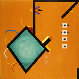 A modern artwork by the artist Jack Smith