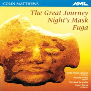 CD cover for the great journey, nights mask, fuga