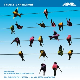 Cover of CD for themes and variations