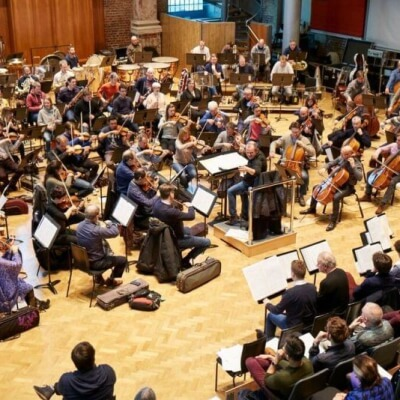 The London Symphony Orchestra performing at their Panufnik workshop (Photo: Kevin Leighton)