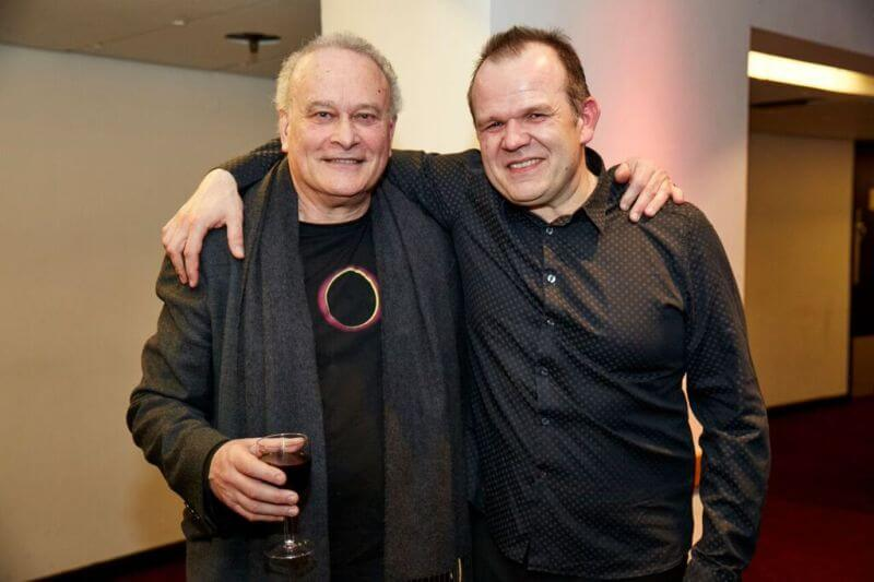 CM & François-Xavier Roth at the LSO Panufnik Workshop, March 2016 (Photo: Kevin Leighton)