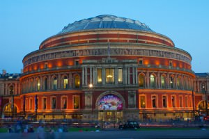a picture of the Royal Albert Hall building