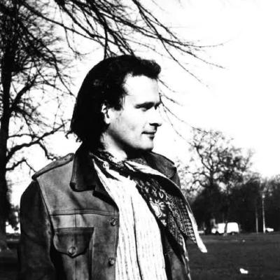 Colin Matthews in a park