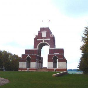View of Thiepval Memorial