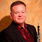 Nicholas Daniel with his oboe